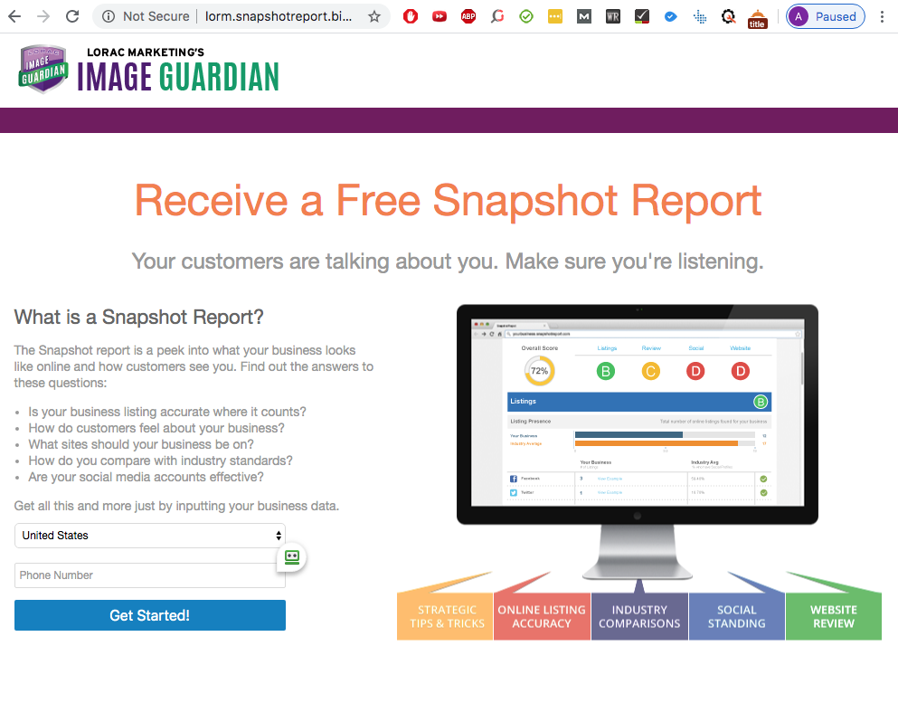Snapshot-report-smallbusinesshelpdf